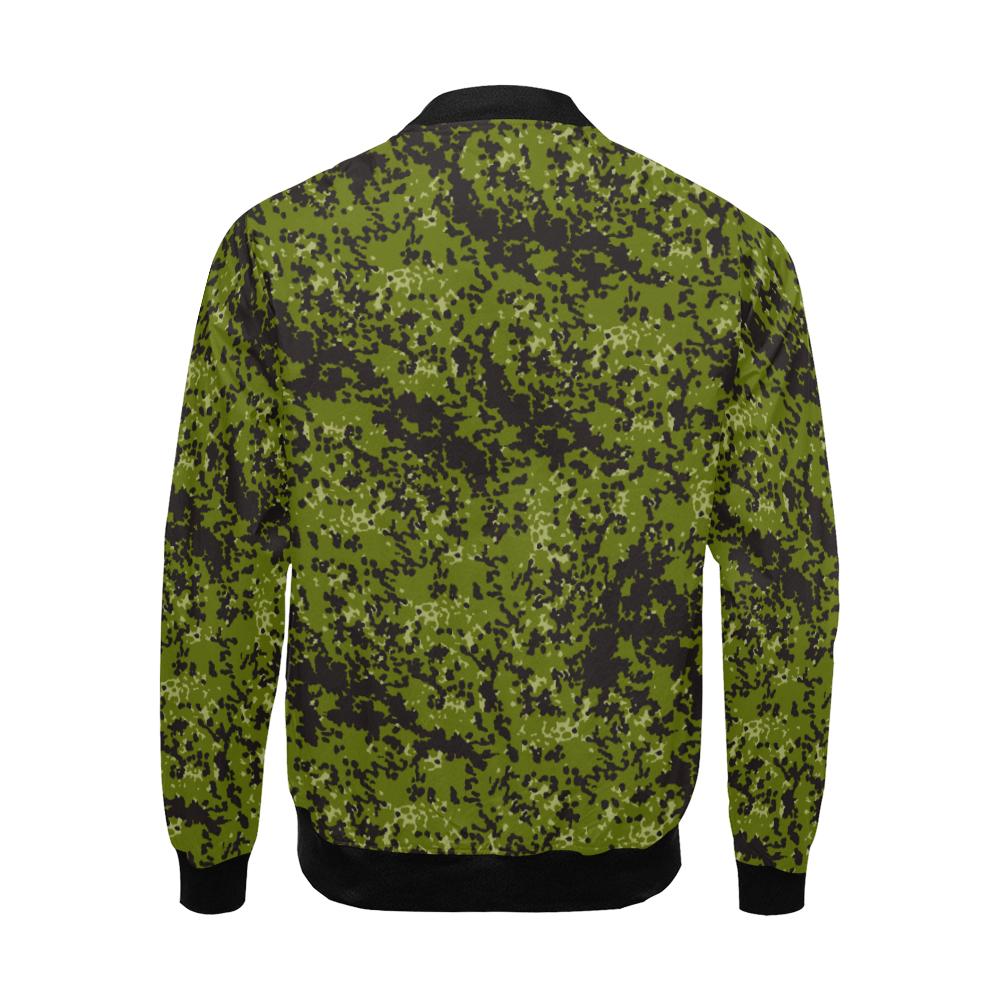 Danish M84 pattern camouflage Bomber Jacket for Men