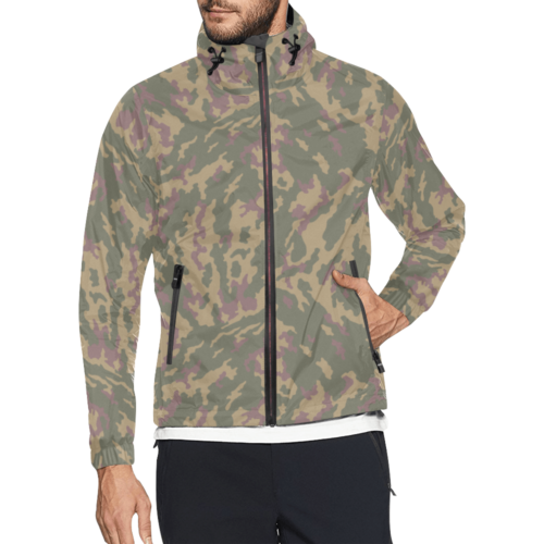 Russian VSR 3TsV Highland-Dubok Camouflage Windbreaker for Men