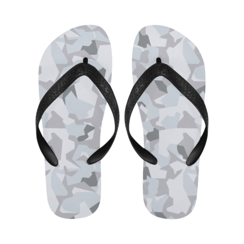 Swedish M90 Winter Camouflage Flip Flops for Men/Women Free Shipping