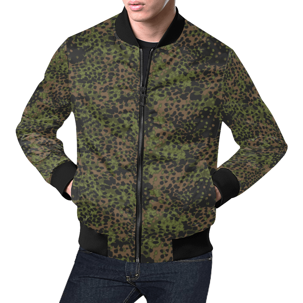 Platanenmuster summer camouflage Bomber Jacket