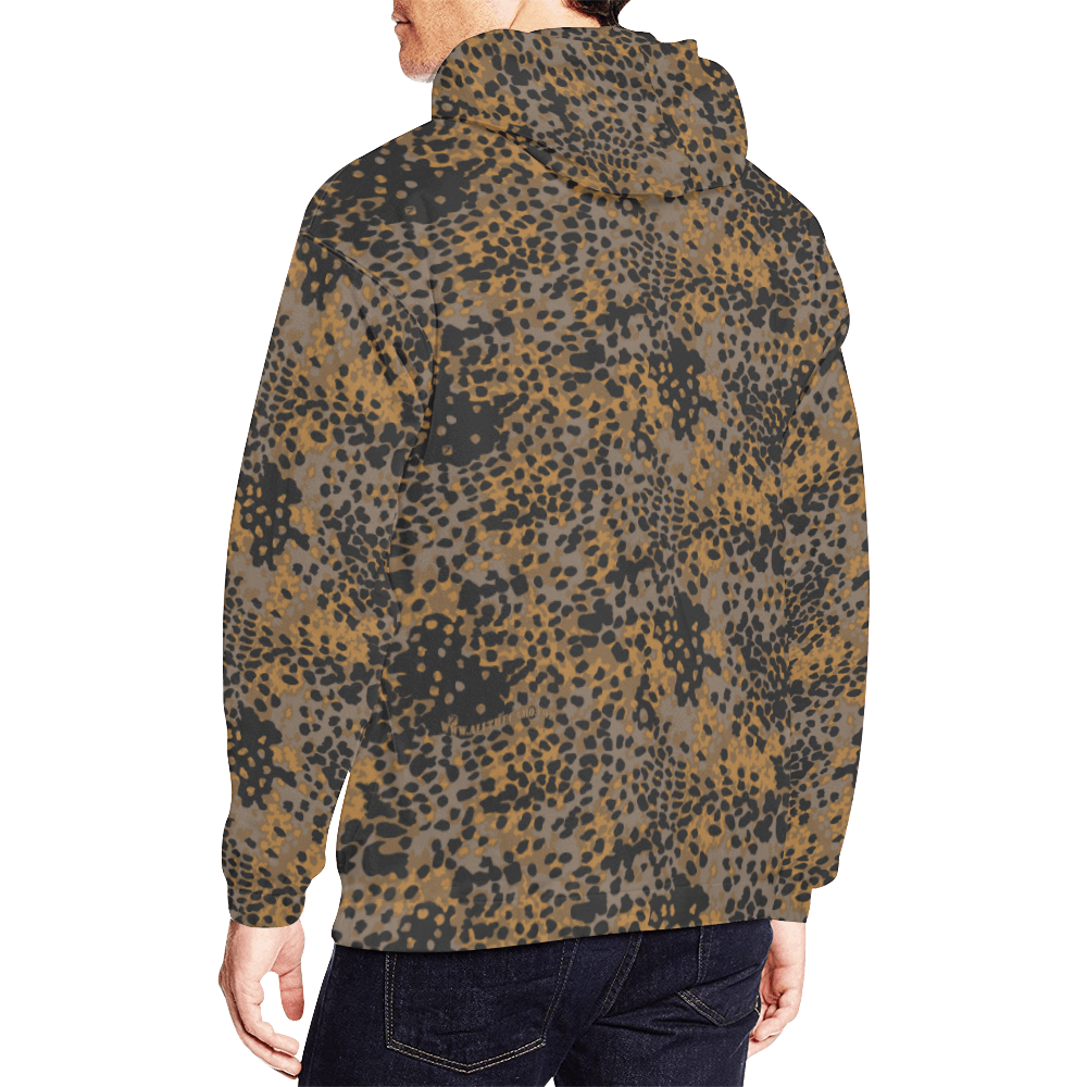 Platanenmuster fall camouflage Hoodie for Men