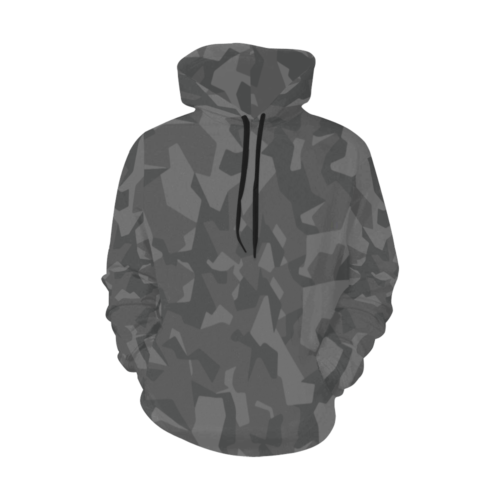 Swedish M90 Night camouflage Hoodie for Men