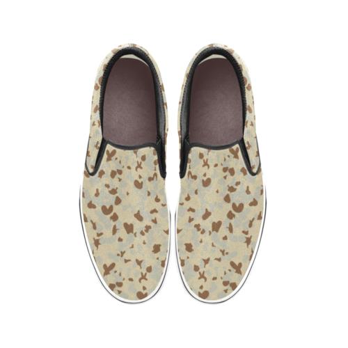 DESERT AUSCAM MKI camouflage Men's Classic Slip-On Sneakers .