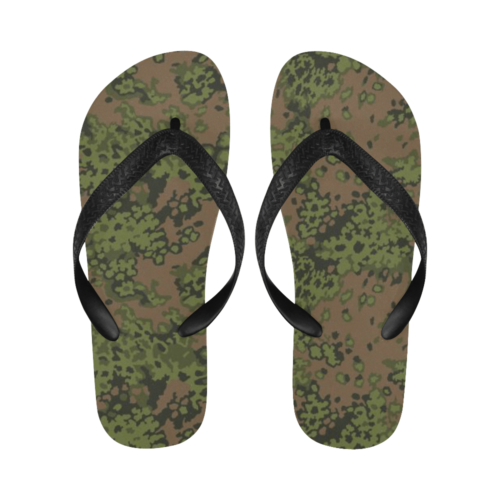 Eichenlaub spring camouflage Flip Flops for Men/Women Free Shipping