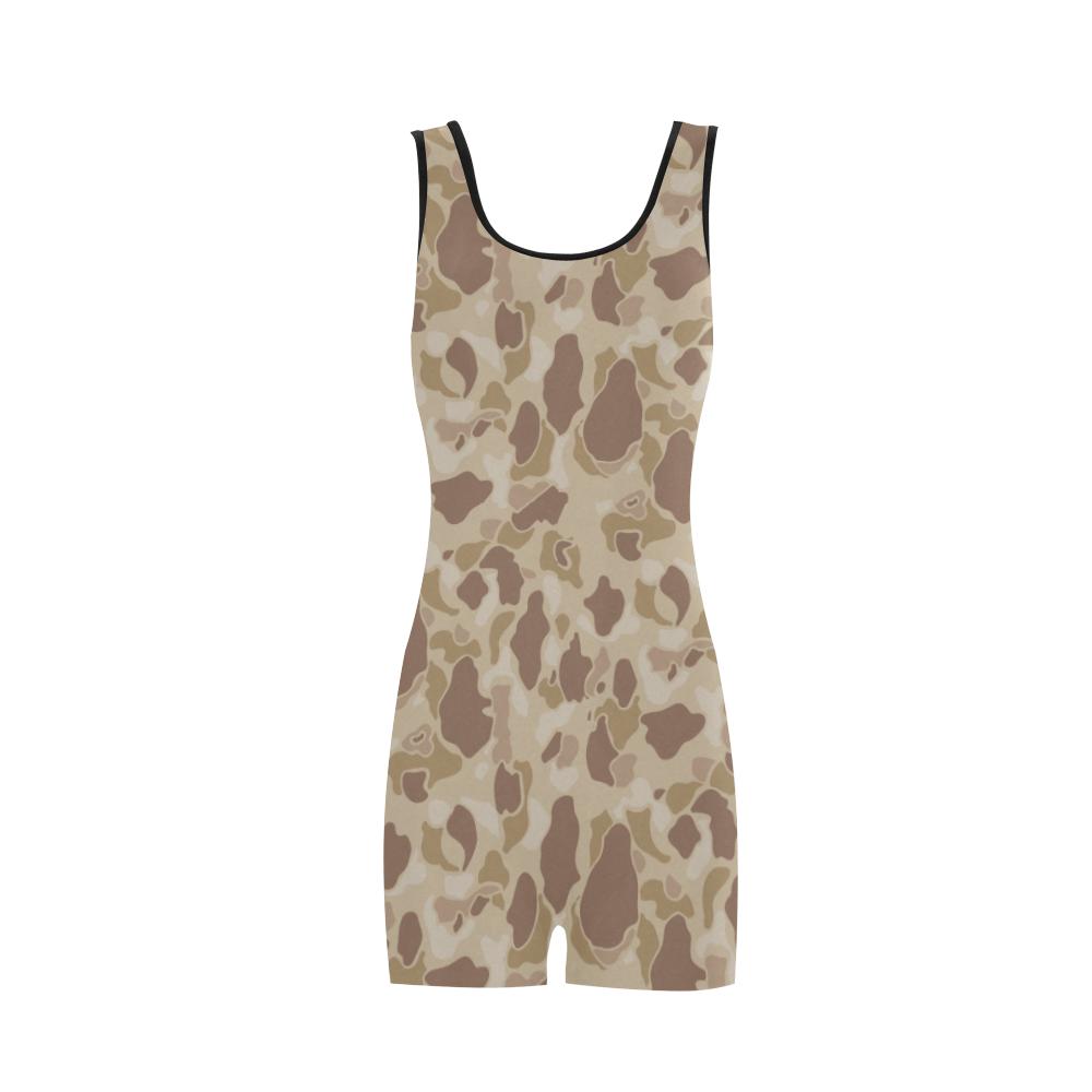 US duckhunter autumn Camouflage Classic One Piece Swimwear