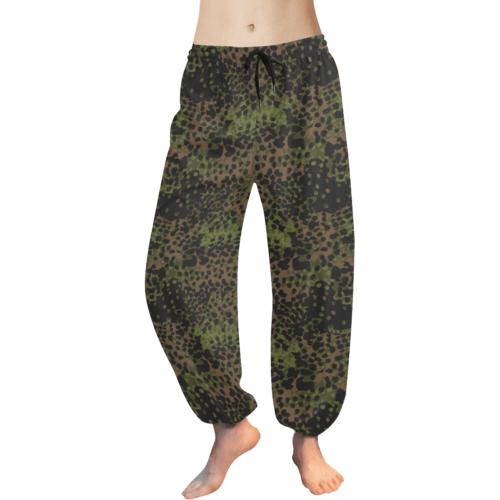 Platanenmuster summer camouflage Women's Harem Pants