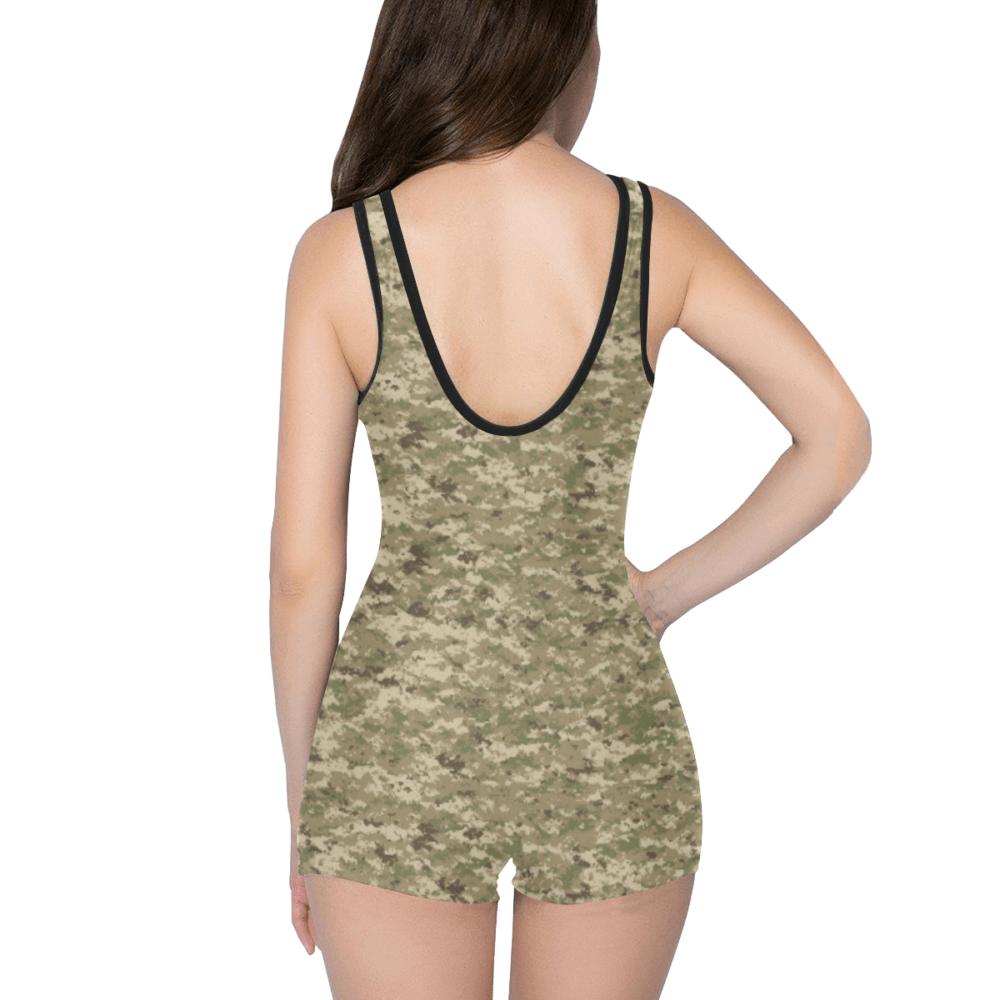 US AOR UNIVERSAL camouflage Classic One Piece Swimwear