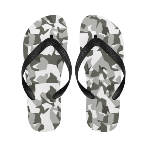 Swedish M90 Urban Camouflage Flip Flops for Men/Women Free Shipping