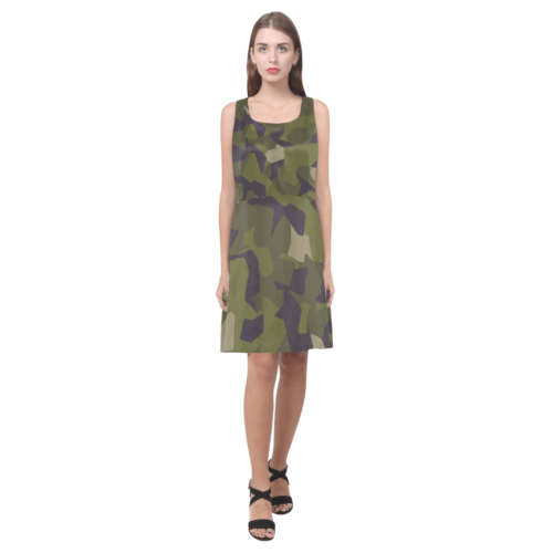 Swedish M90 woodland camouflage Hebe Casual Sundress