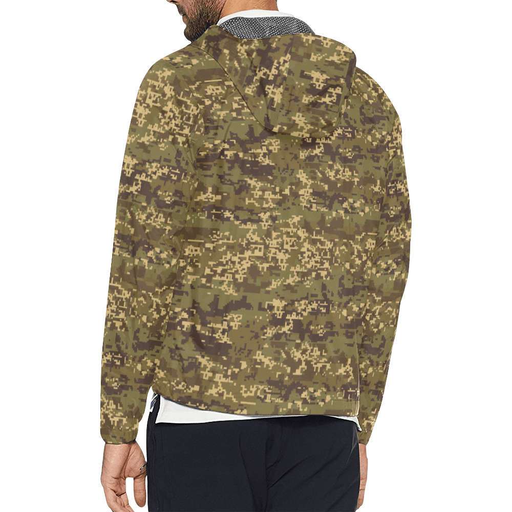 Austrian Jagdkommando pixeltarnung Temperate Windbreaker for Men