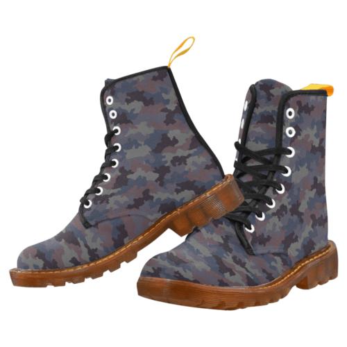 Yugoslav M85 Hrastov List urban camouflage Martin Boots For Men