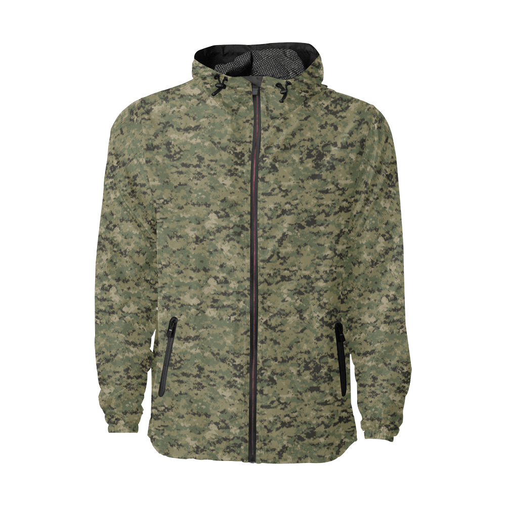 US AOR2 camouflage Windbreaker for Men
