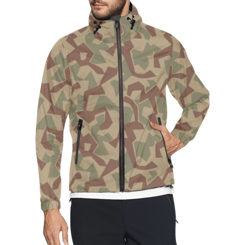 1946 Bulgarian splinter camouflage Windbreaker for Men