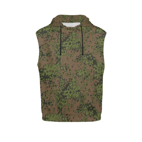 eichenlaub summer camouflage Sleeveless Hoodie for Men