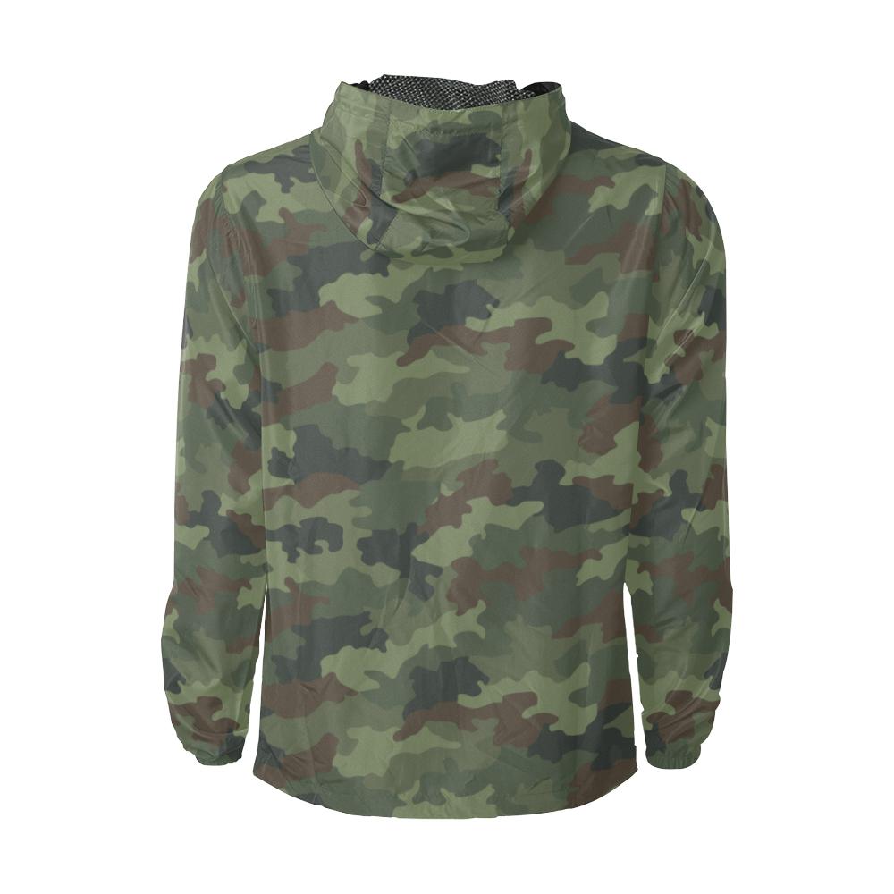 Yugoslav M89 Hrastov List camouflage Windbreaker for Men
