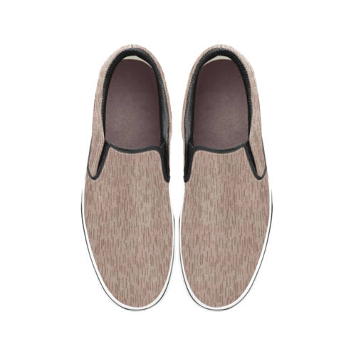 Bulgarian 1960 Raindrop Camouflage Men's Classic Slip-On Sneakers .