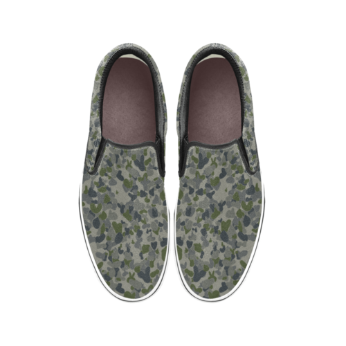 auscam dpnu camouflage Men's Classic Slip-On Sneakers .