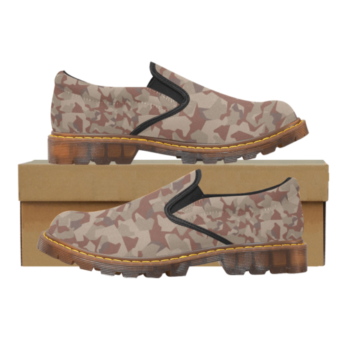 Swedish M90 Desert camouflage Martin Men's Slip-On loafer