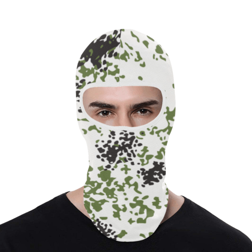 Snow Flecktarn Schneetarn Fleck camouflage Balaclava