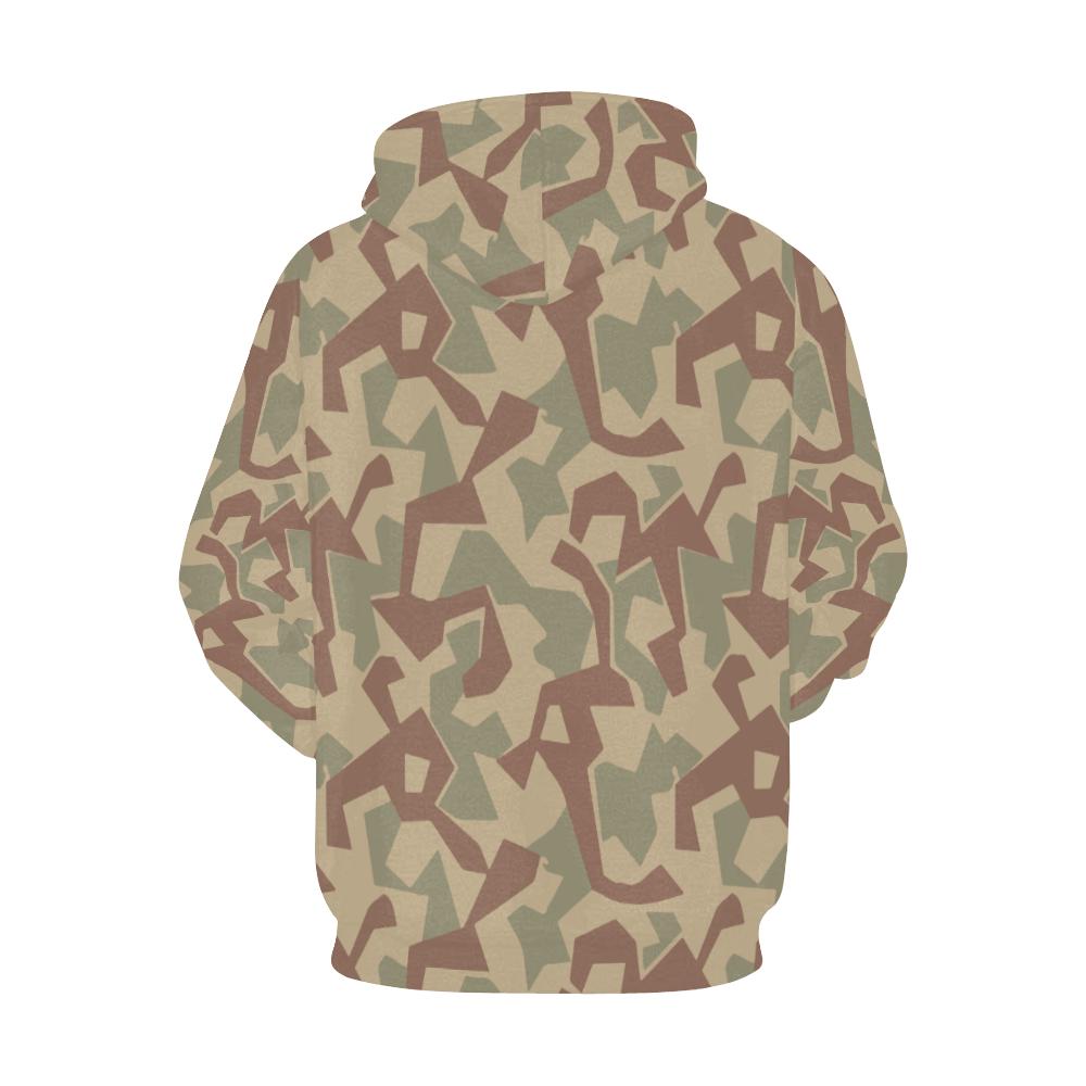 1946 bulgaria splinter camouflage Hoodie for Men