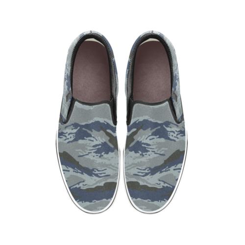 Russian Urban Kamush Men's Classic Slip-On Sneakers .
