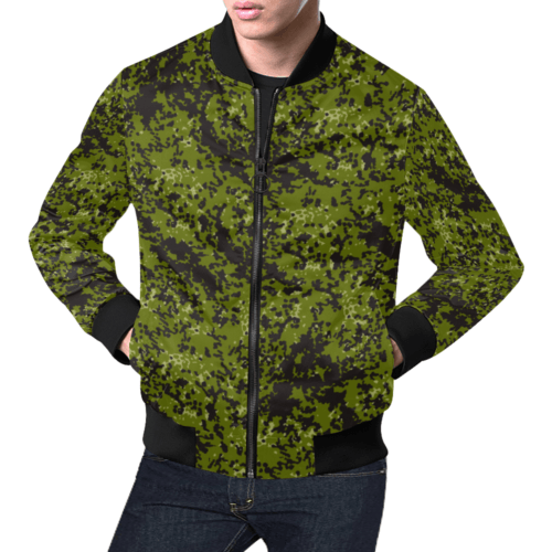Danish M84 pattern camouflage Bomber Jacket for Men