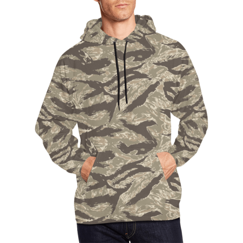 US desert Tiger stripes camouflage Hoodie