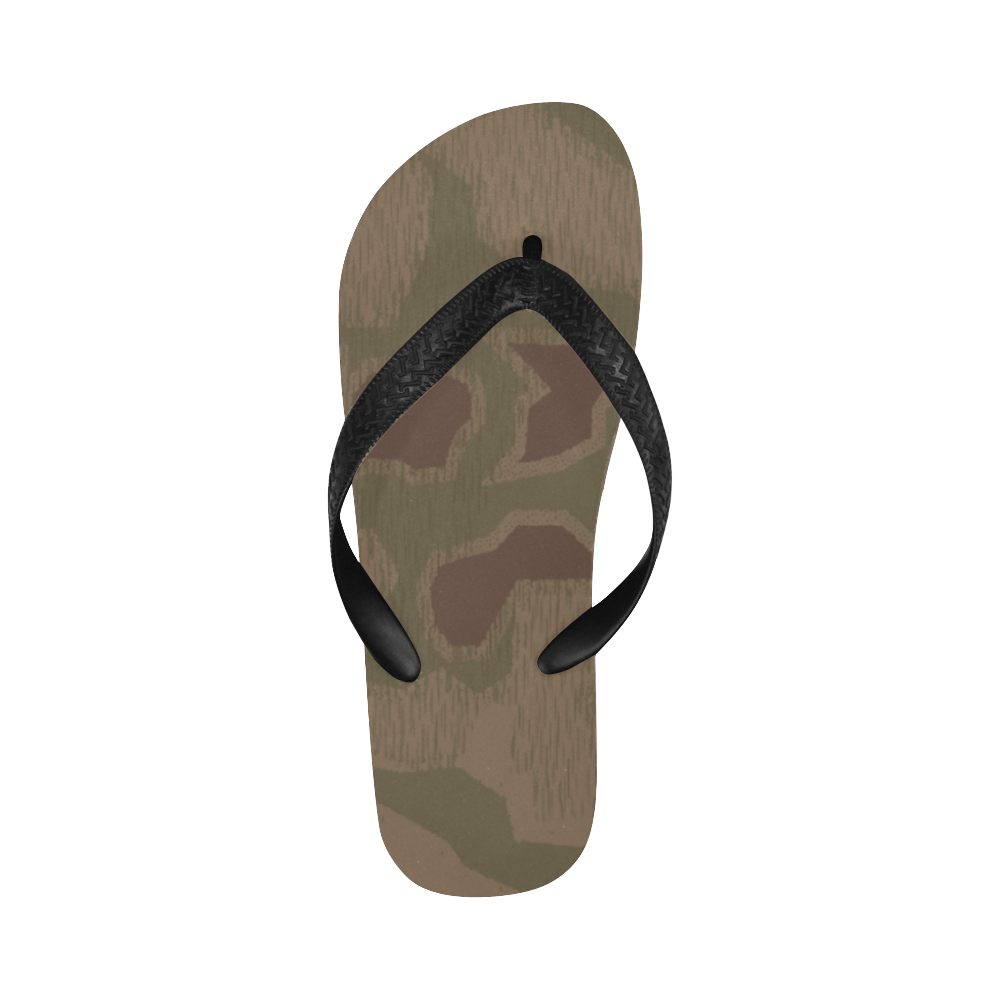 Sumpfmuster 41 camouflage Flip Flops for Men/Women Free Shipping