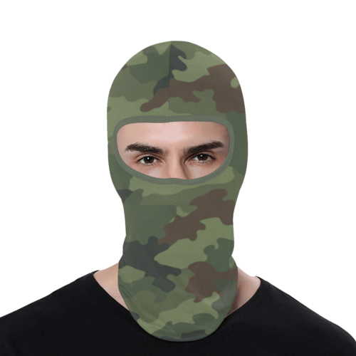 Yugoslav M89 Hrastov List camouflage Balaclava