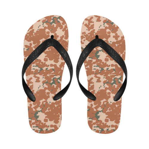 danish M84 desert camouflage Flip Flops for Men/Women Free Shipping