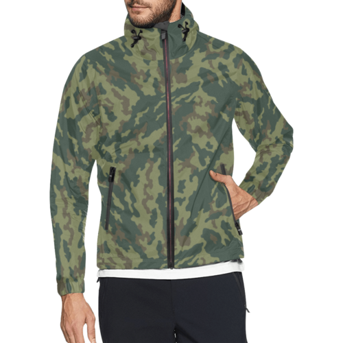 Russian VSR 3TsV Mountain Dubok Camouflage Windbreaker for Men
