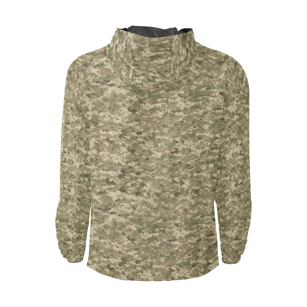 US AOR UNIVERSAL camouflage Windbreaker for Men