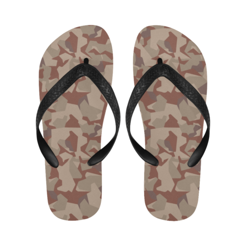 Swedish M90 Desert camouflage Flip Flops for Men/Women Free Shipping