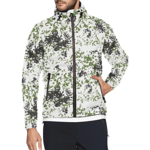 Snow Flecktarn Schneetarn Fleck camouflage Windbreaker for Men