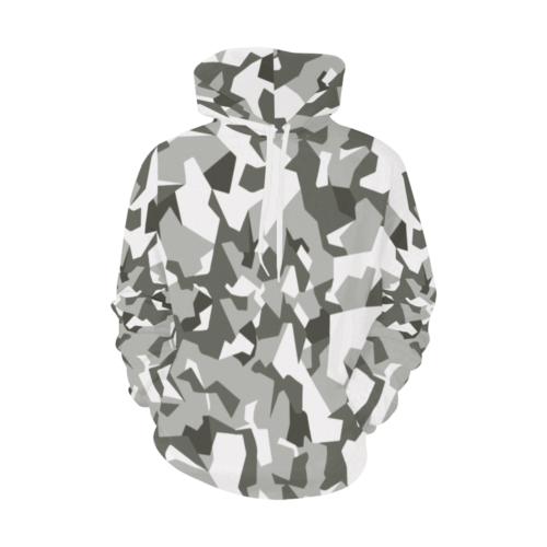 Swedish M90 Urban Camouflage Hoodie for Men