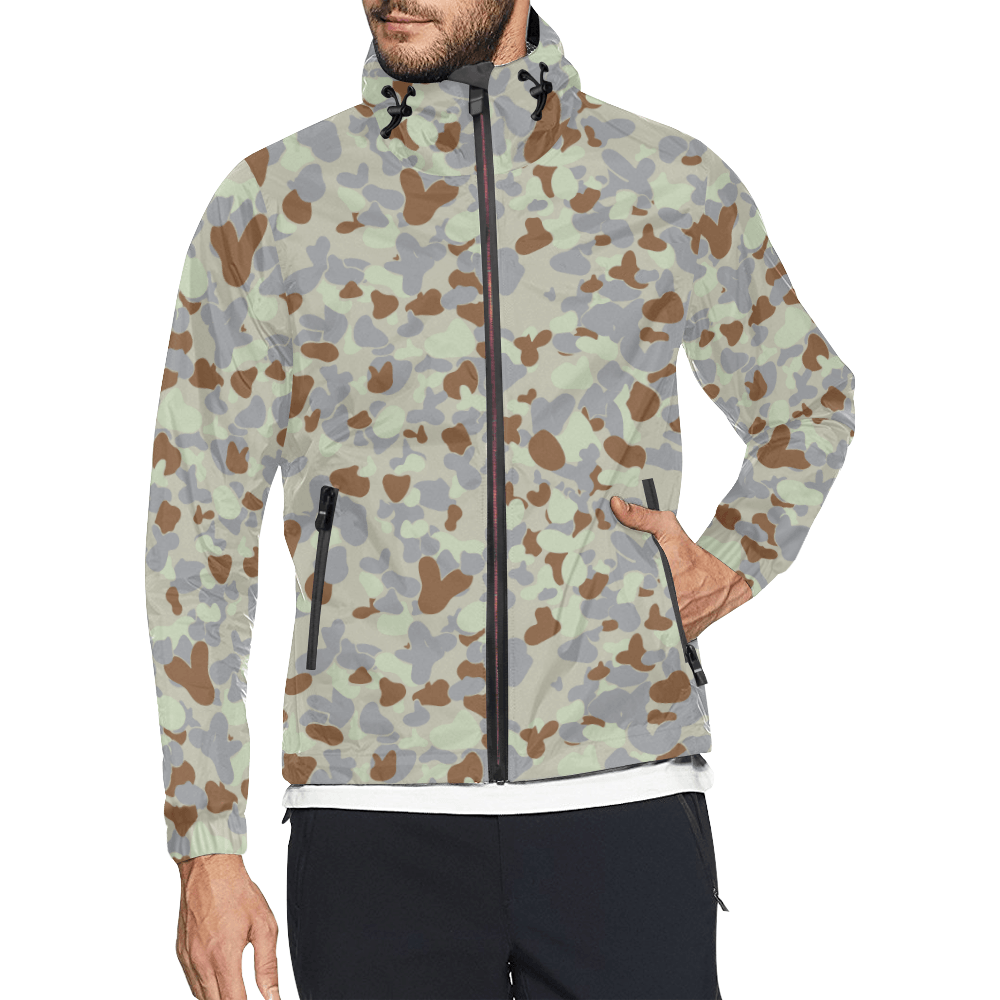 DESERT AUSCAM MKII camouflage Windbreaker for Men