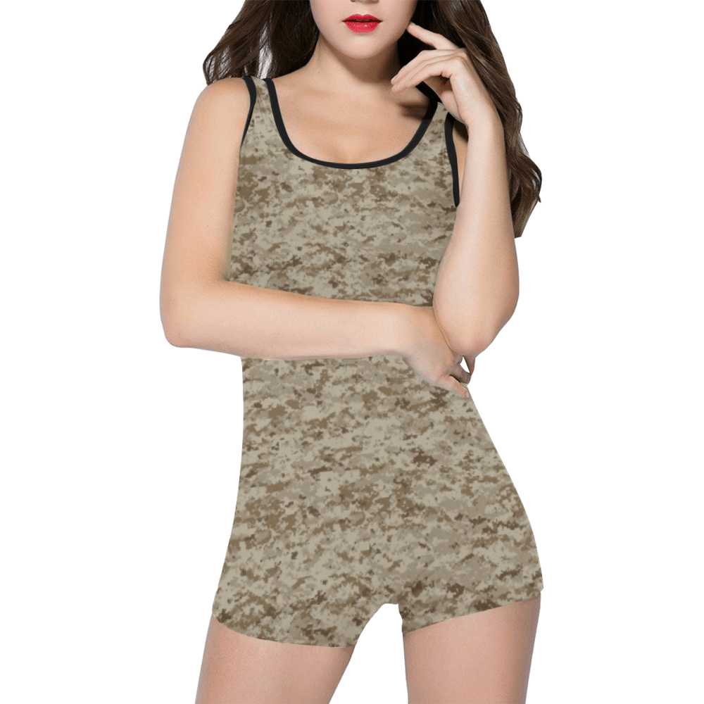 US AOR1 camouflage Classic One Piece Swimwear