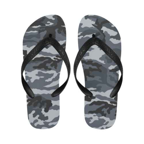 Russian Gorod grey Flip Flops for Men/Women Free Shipping
