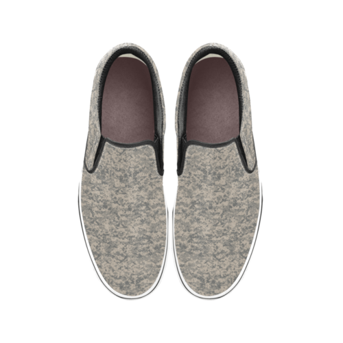 US UCP camouflage Men's Classic Slip-On Sneakers .