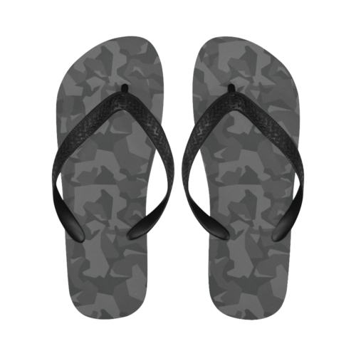 Swedish M90 Night Camouflage Flip Flops for Men/Women Free Shipping