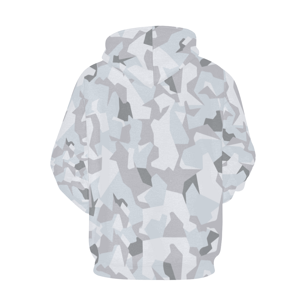 Swedish M90 Winter camouflage Hoodie for Men