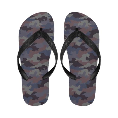Yugoslav M85 Hrastov List urban camouflage Flip Flops for Men/Women Free Shipping