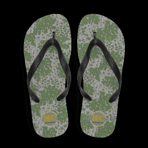Bulgarian Frogskin 68 camouflage Flip-Flops