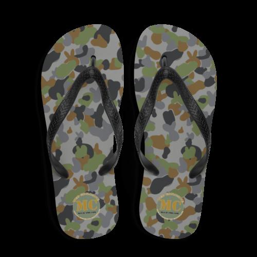 AUSCAM AFDPU camouflage Flip-Flops