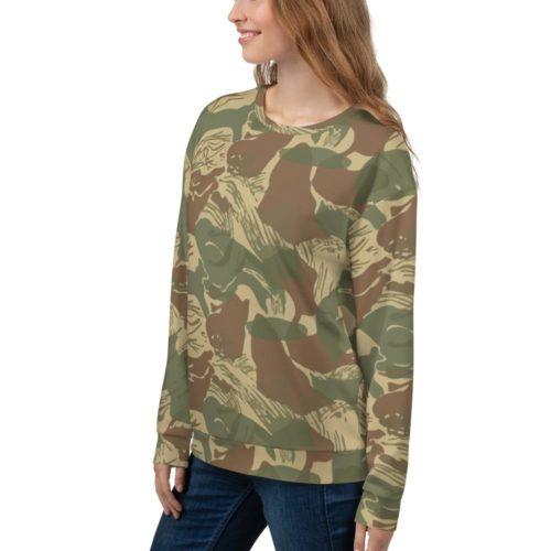 Rhodesian Brushstroke Camouflage Unisex Sweatshirt