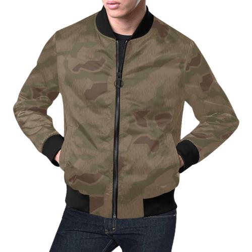 sumpfmuster 43 camouflage Bomber Jacket