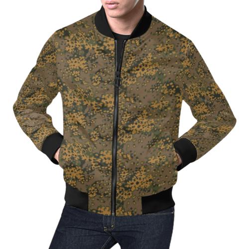 Eichenlaub fall camouflage Bomber Jacket