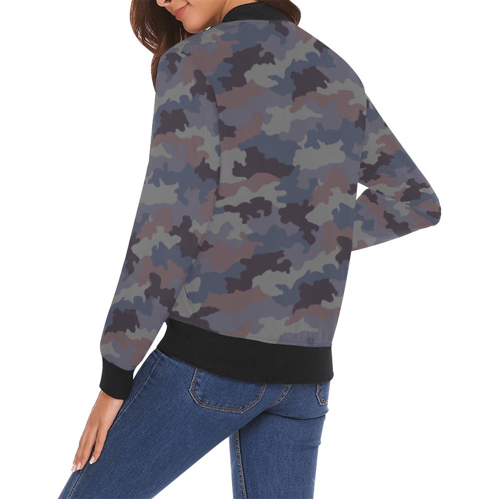 Yugoslav M89 Hrastov List urban camouflage Bomber Jacket for Women