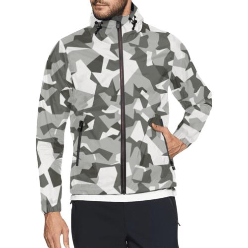 Swedish M90 Urban Camouflage Windbreaker for Men