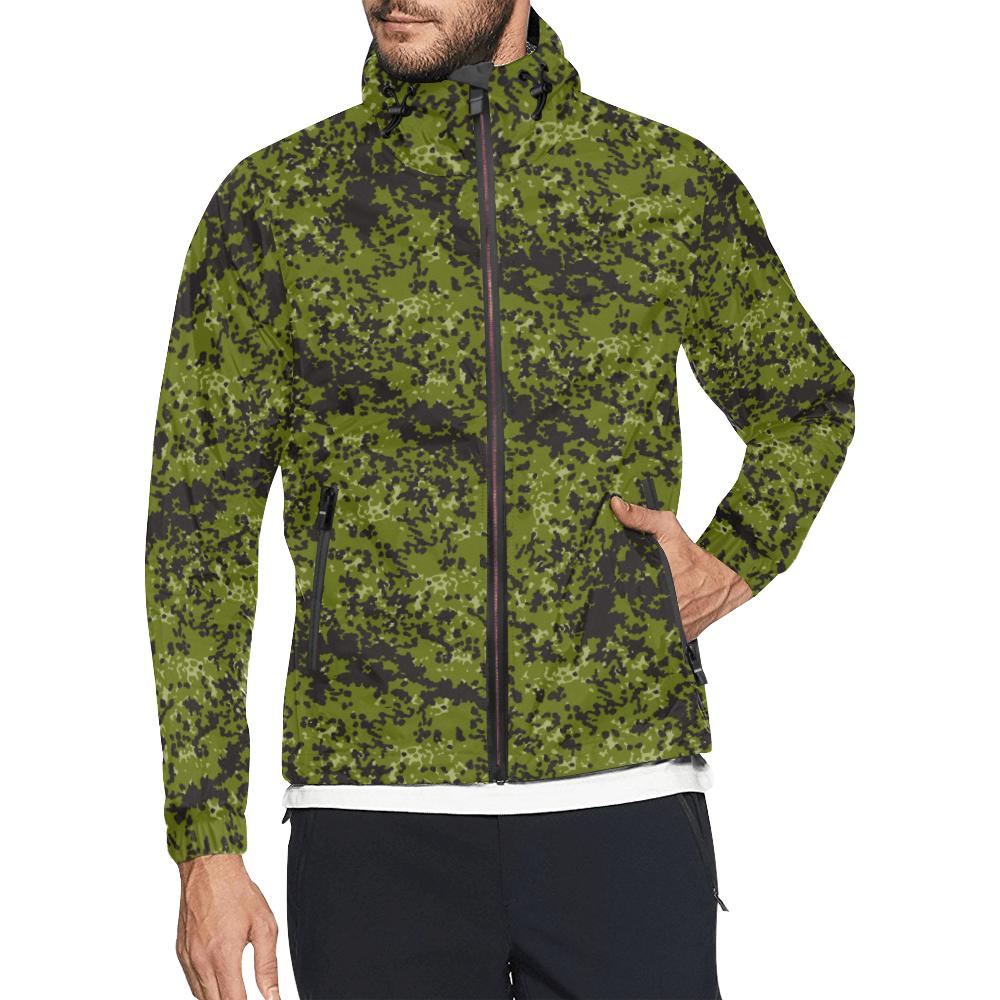 Danish M84 woods camouflage Windbreaker for Men